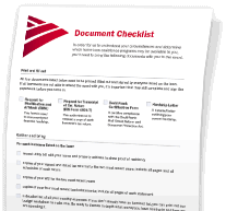Document checklist icon